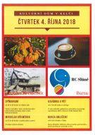 Kulturní dům v Kelči - akce dne 4. října 2018 1