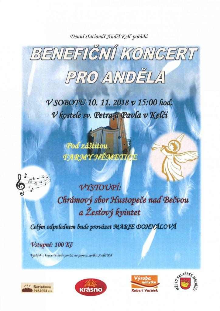 Benefiční koncert pro Anděla 1