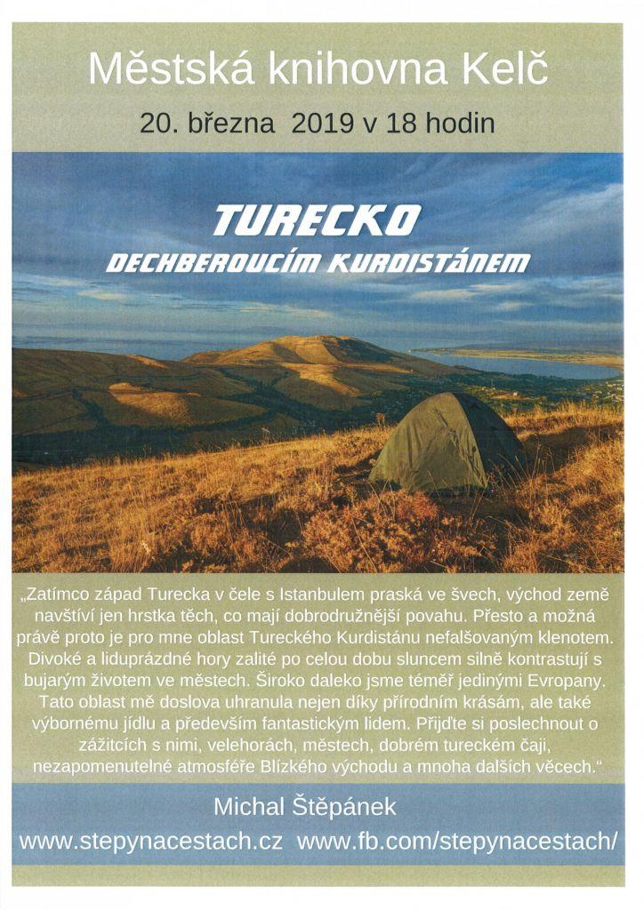 Cestovatelská přednáška Michala Štěpánka 1